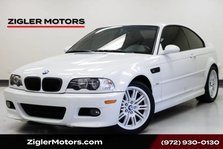 2002 BMW 3 Series M3 Coupe SMG Transmission w/Dual Shift Mode Addison TX