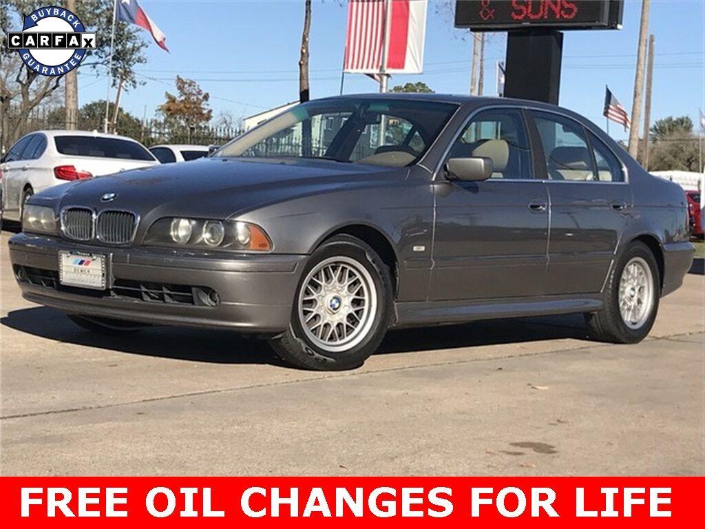 2002_BMW_5 Series_525i_ Houston TX