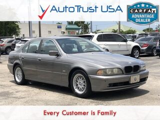 BMW 5 Series 525i LOCAL TRADE LEATHER SUNROOF RUNS DRIVES COLD A/C L 2002