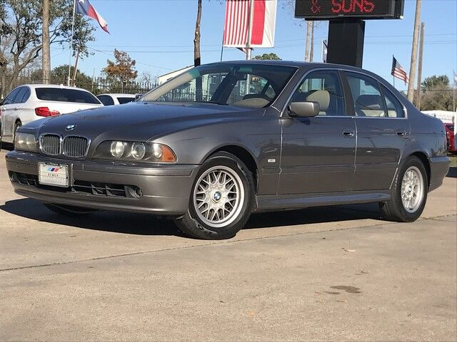 2002_BMW_5 Series_525iA_ Houston TX