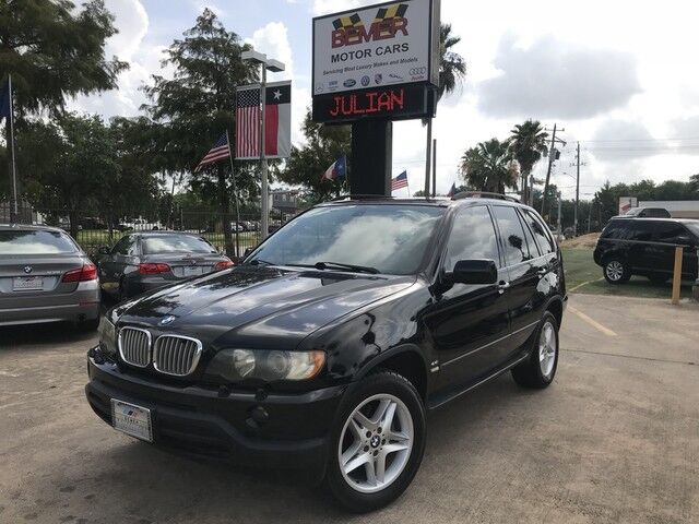 2002_BMW_X5_4.4i_ Houston TX