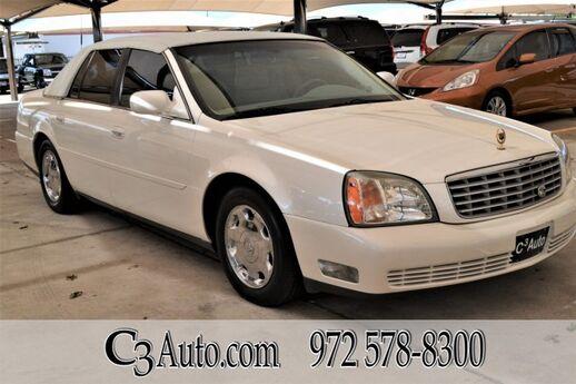 2002 Cadillac DeVille  Plano TX