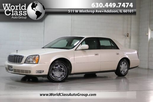 2002 Cadillac DeVille w/Livery Pkg - LEATHER SEATS WOOD GRAIN INTERIOR HEATED FRONT & BACK SEATS REAR CLIMATE CONTROL Chicago IL