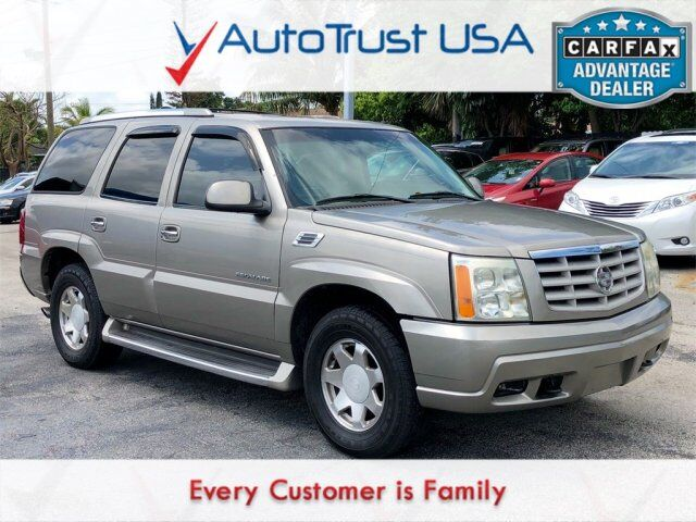 2002 Cadillac Escalade Base Value Lot Miami FL