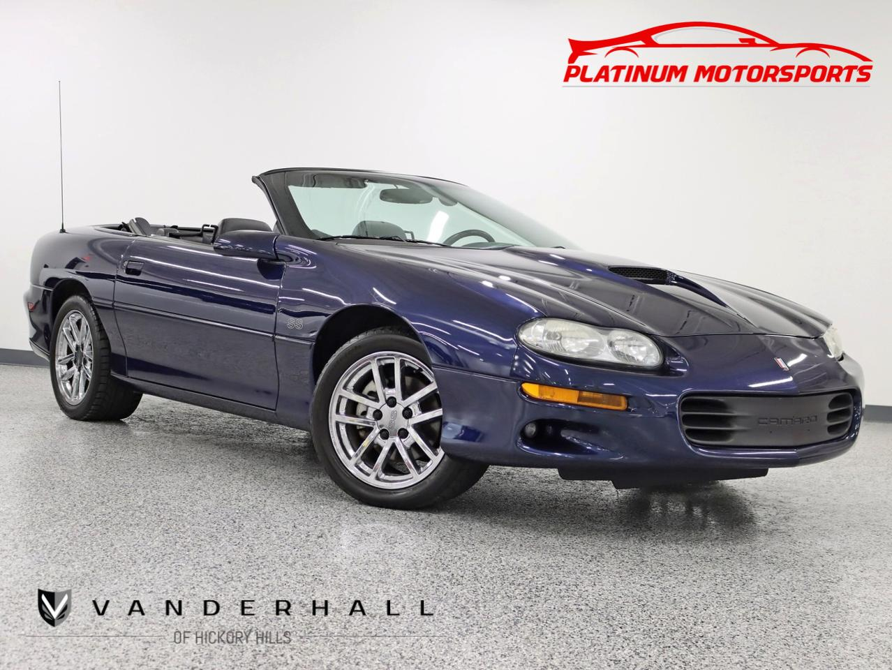 2002 Chevrolet Camaro SS Convertible Rare Hurst 6 Speed 1 of 86 Produced Leather Chrome Factory Rims Hickory Hills IL