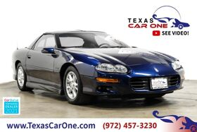 2002_Chevrolet_Camaro_Z28 AUTOMATIC 35TH ANNIVERSAY LEATHER SEATS POWER DRIVER SEAT CRUISE CONTROL_ Carrollton TX