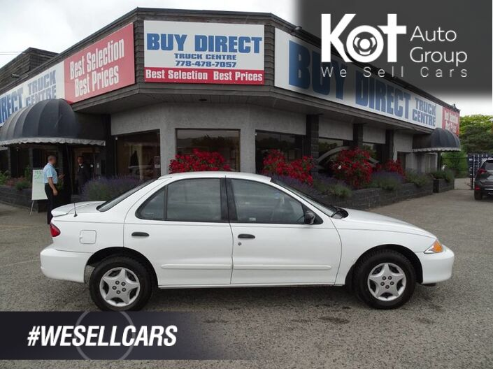 2002 Chevrolet Cavalier VL, Great Condition, Perfect First Car Kelowna BC
