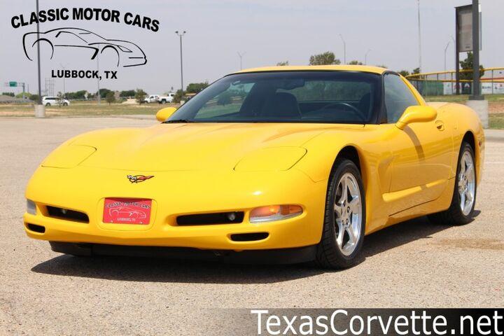 2002 Chevrolet Corvette  Lubbock TX