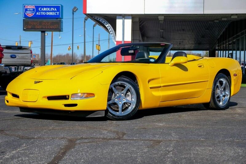 2002 Chevrolet Corvette Convertible **LOW MILES** w/ Performance Handling Package & Head-Up Display Mooresville NC