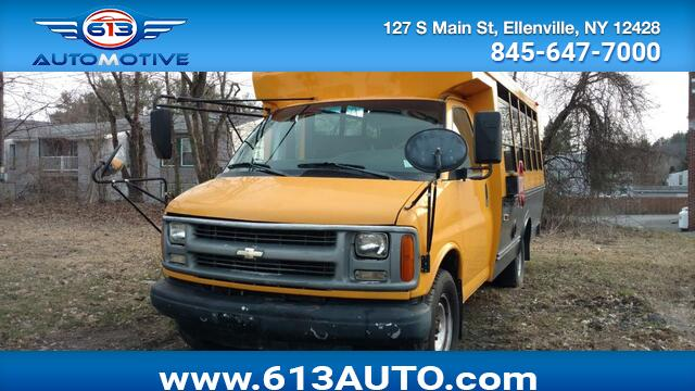 2002 Chevrolet Express G3500 Ulster County NY