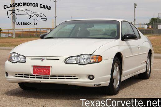 2002 Chevrolet Monte Carlo SS Lubbock TX