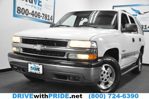 2002 Chevrolet Tahoe LS 247K TOWING PKG ROOF RACK RUNBOARDS 3RD ROW REAR AC Houston TX