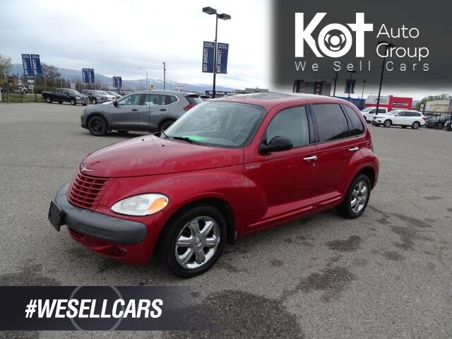 2002 Chrysler PT Cruiser Limited, Leather Seats, Sunroof, Low KM's Kelowna BC