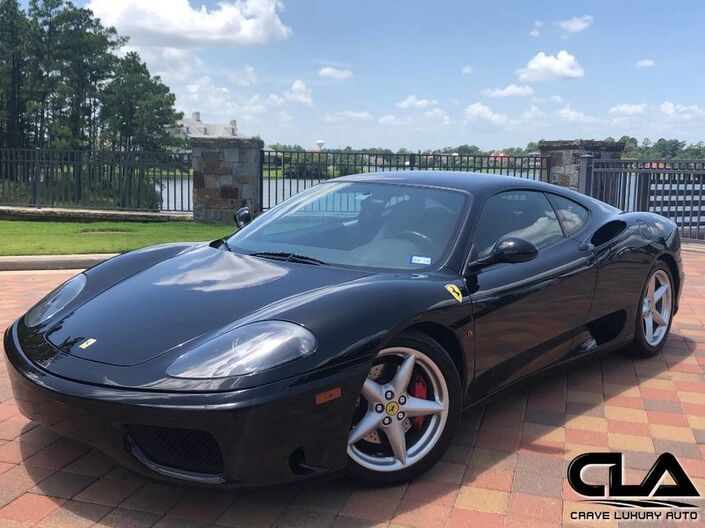 2002 Ferrari 360 Modena The Woodlands TX