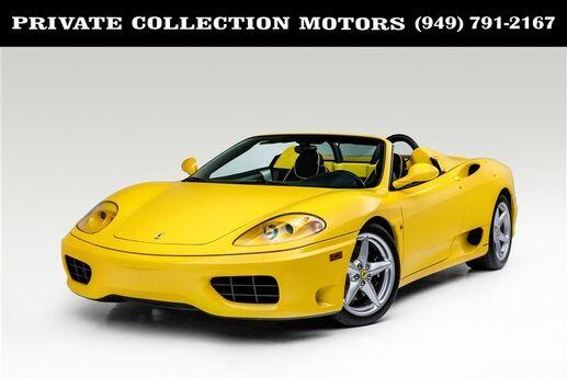 2002 Ferrari 360 Spider Costa Mesa CA