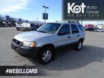 2002 Ford Escape XLS Duratec, No Accidents!