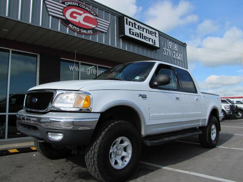 2002 Ford F-150 Super Crew FX4 4x4 Lariat Leather