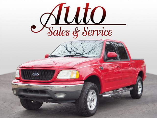 2002 Ford F-150 XLT SuperCrew Short Bed 4WD Indianapolis IN