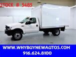 2002 Ford F450 ~ 12ft Box Van ~ Only 77K Miles!