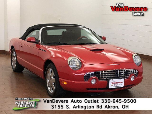 2002 Ford Thunderbird Base Akron OH