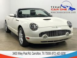 2002_Ford_Thunderbird_PREMIUM AUTOMATIC LEATHER SEATS LEATHER STEERING WHEEL CRUISE CO_ Carrollton TX