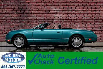 2002_Ford_Thunderbird_Premium Convertible w/Hardtop & Soft top_ Red Deer AB