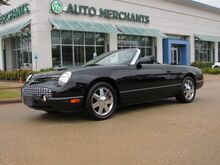 2002_Ford_Thunderbird_Premium Hardtop, AM/FM/6-CD CHANGER, CRUISE CONTROL, LEATHER, CLIMATE CONTROL, 1 OWNER TRADE IN!!!_ Plano TX