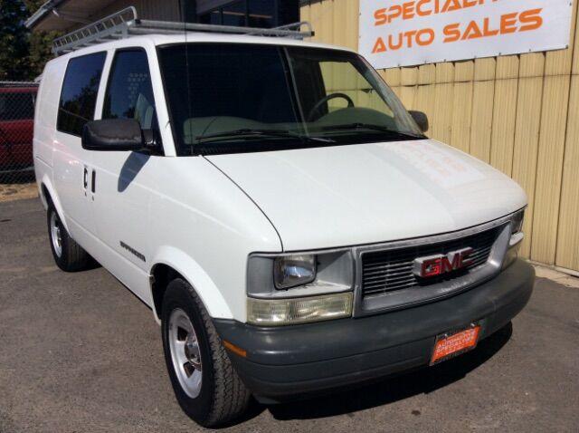 2002 GMC Safari Cargo Van AWD Spokane WA