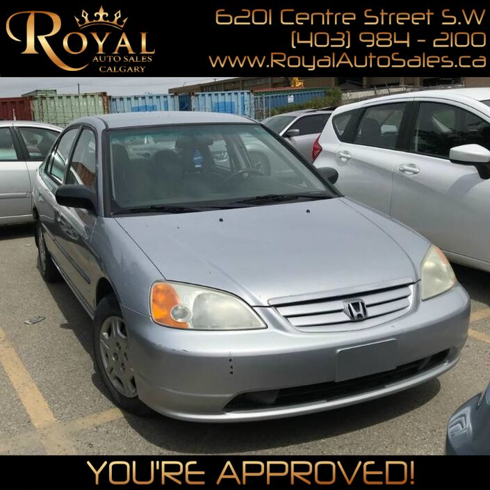 2002 Honda Civic DX Calgary AB