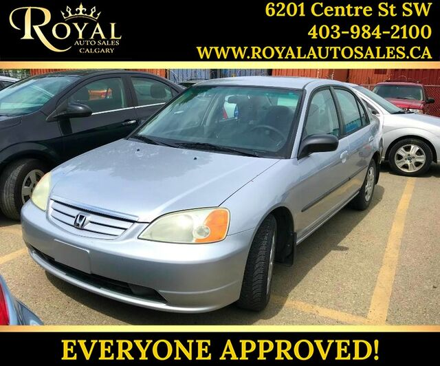 2002_Honda_Civic_DX_ Calgary AB
