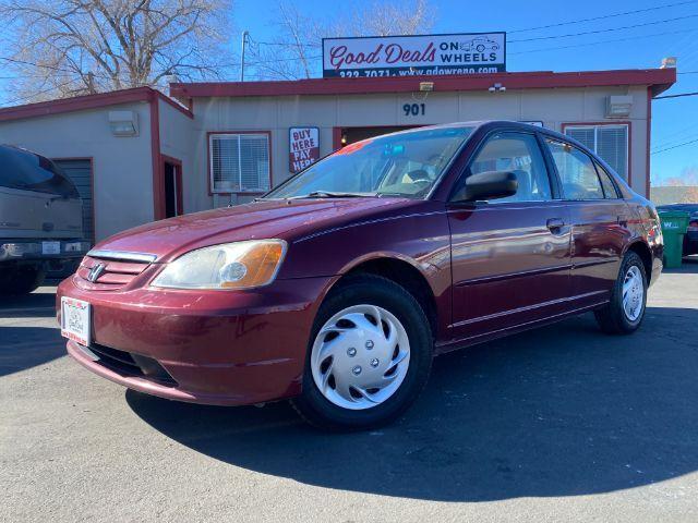 2002 Honda Civic LX sedan Reno NV