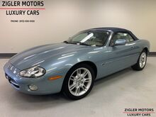 2002_Jaguar_XK8_Convertible low miles only 22kmi Navigation Clean Carfx_ Addison TX