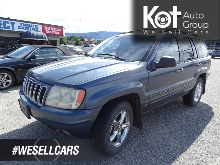 2002 Jeep Grand Cherokee Limited Kelowna BC