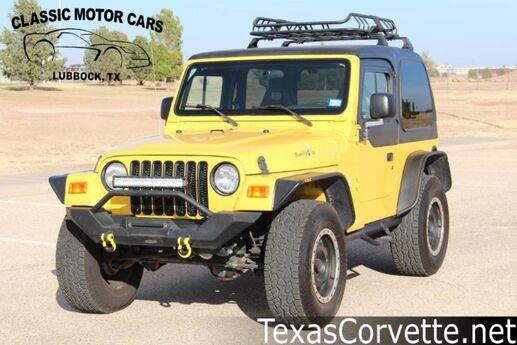 2002 Jeep Wrangler X Lubbock TX