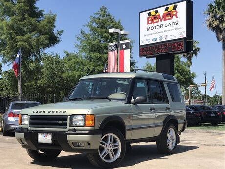 2002 Land Rover Discovery Series II Houston TX