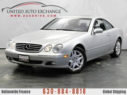 2002_Mercedes-Benz_CL-Class_CL500 Coupe 5.0L V8 Engine RWD w/ Sunroof, Bose Sound System_ Addison IL