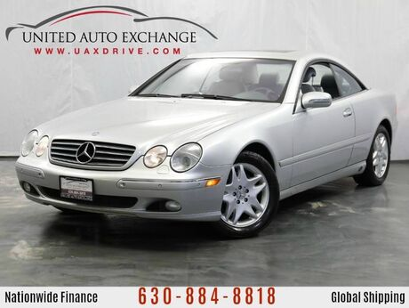 2002 Mercedes-Benz CL-Class CL500 Coupe 5.0L V8 Engine RWD w/ Sunroof, Bose Sound System Addison IL