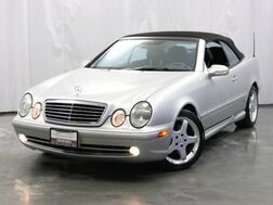 2002_Mercedes-Benz_CLK 430_Sport CONVERTIBLE / 4.3L V8 Engine / RWD / Heated Leather Seats / Power Seats & Windows_ Addison IL