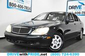2002 Mercedes-Benz S-Class S430 BOSE NAVIGATION HEATED MEMORY SEATS SUNROOF