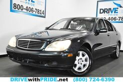 2002_Mercedes-Benz_S-Class_S430 BOSE NAVIGATION HEATED MEMORY SEATS SUNROOF_ Houston TX