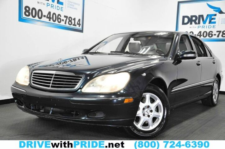2002 Mercedes-Benz S-Class S430 BOSE NAVIGATION HEATED MEMORY SEATS SUNROOF Houston TX