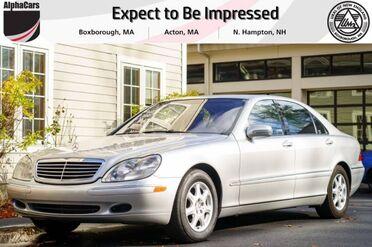 2002_Mercedes-Benz_S430_Sedan_ Boxborough MA