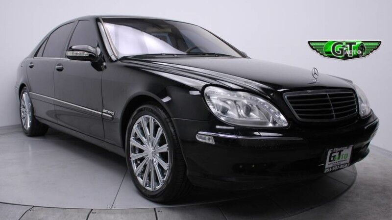 2002 Mercedes-Benz S500 *Luxury RWD* Puyallup WA