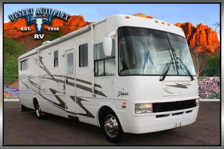 2002 National Dolphin 5342 Double Slide Class A Motorhome Mesa AZ