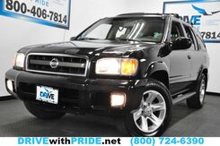 2002_Nissan_Pathfinder_LE 166K LEATHER PKG POWER SEATS WOOD TRIM HOMELINK ALLOYS_ Houston TX
