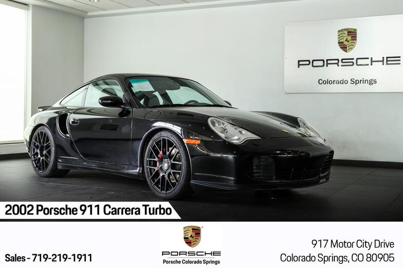 2002 Porsche 911 Turbo Colorado Springs CO
