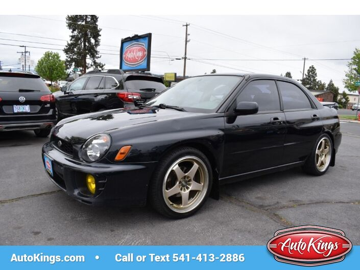 2002 Subaru Impreza Sedan RS Manual Bend OR