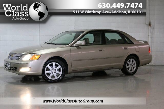 2002 Toyota Avalon XLS - LEATHER INTERIOR HEATED SEATS SUPER CLEAN JBL AUDIO CD PLAYER POWER SEATS Chicago IL