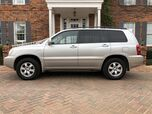 2002 Toyota Highlander Limited 1-OWNER V6 4WD LOW MILEAGE LOADED LIKE NEW CONDITION MUST C!