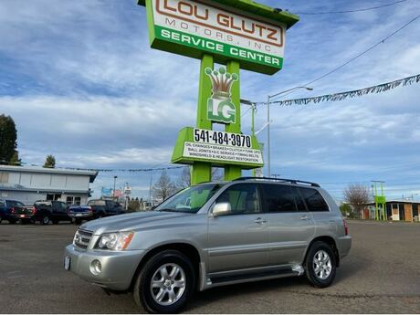 2002 Toyota Highlander Limited V6 2WD Eugene OR